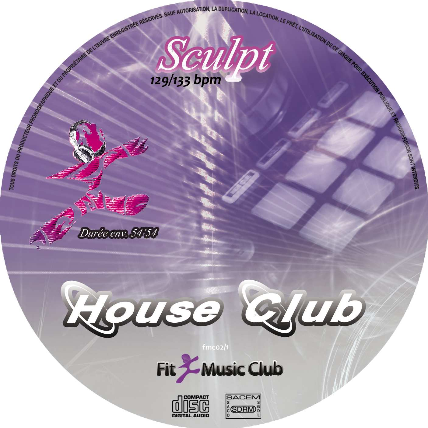 Cd House Club Sculpt