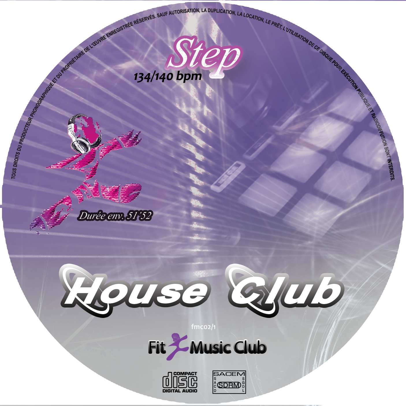 Cd House Club step