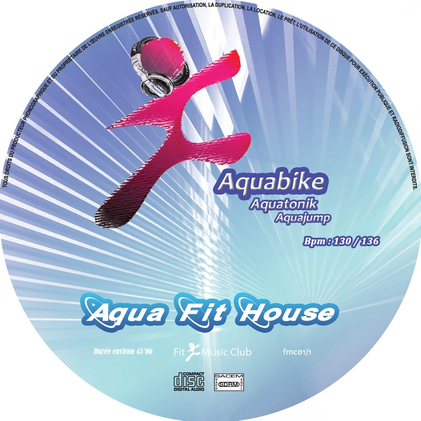 Aqua Fit House / Aquabike / Aquatonik / Aquajump