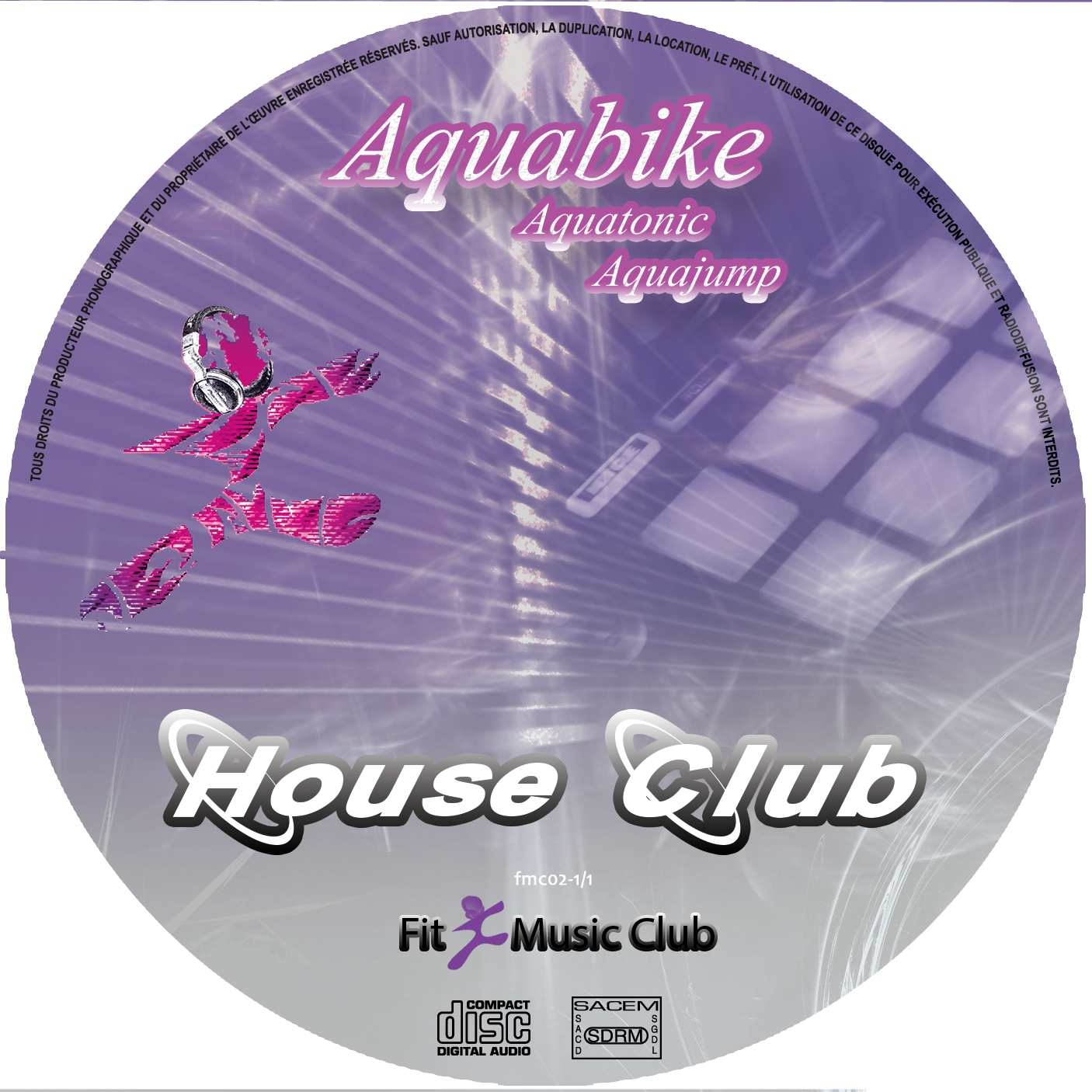 House Club / Aquabike / Aquajump / Aquatonic
