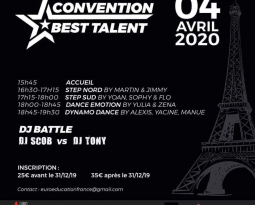 CONVENTION BEST TALENT – PARIS LE 04 04 2020  !