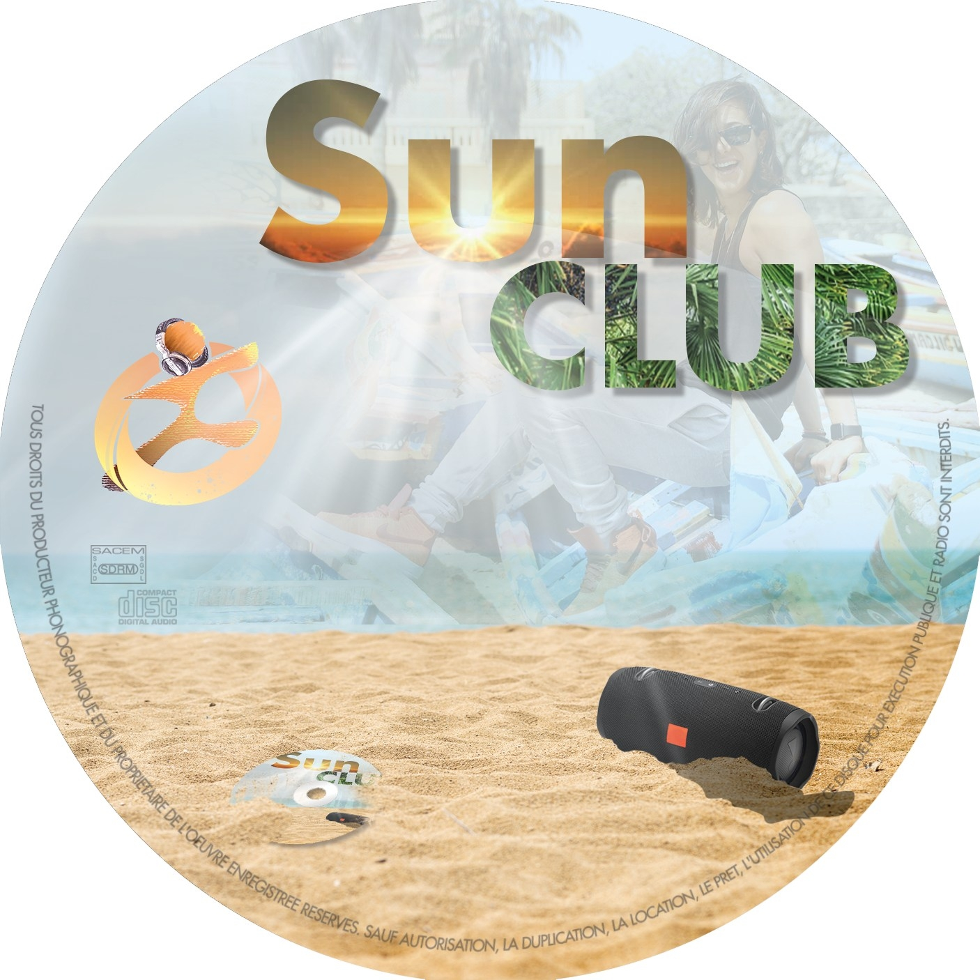 Sun Club – CD – Sculpt